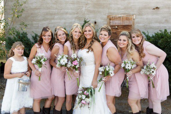 Country Glam Style Wedding