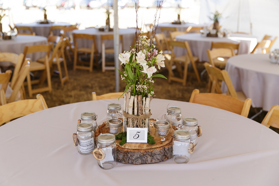 Country Wedding Centerpiece Decorations : Country glam wedding rustic chic