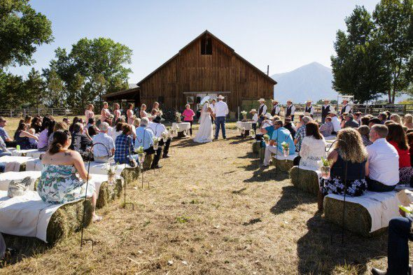 Country Barn Wedding Ceremony