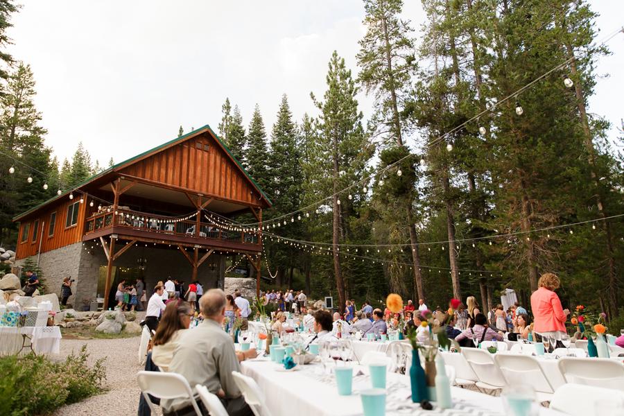 California Cabin Wedding - Rustic Wedding Chic