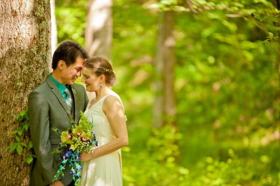 Quaker Rustic Wedding
