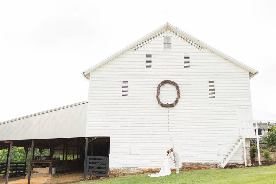 Country Wedding Barn Reception