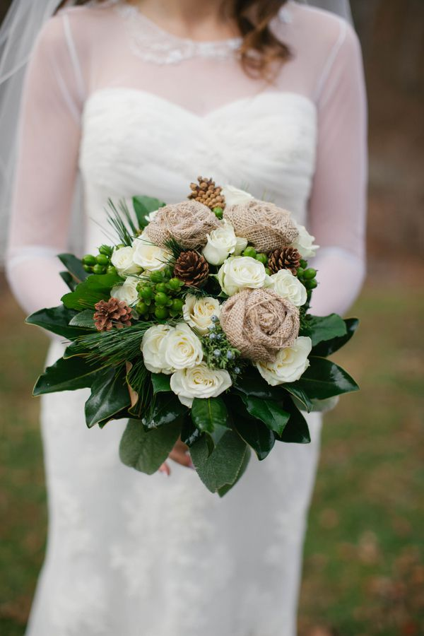 20 winter wedding bouquets rustic wedding chic rustic winter wedding bouquet mightylinksfo