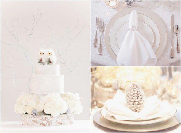 All White Wedding Theme