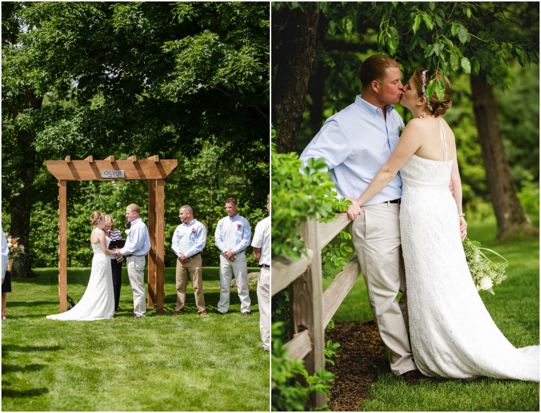 Casual Backyard Wedding Ceremony : Casual Backyard Wedding  Rustic Wedding Chic