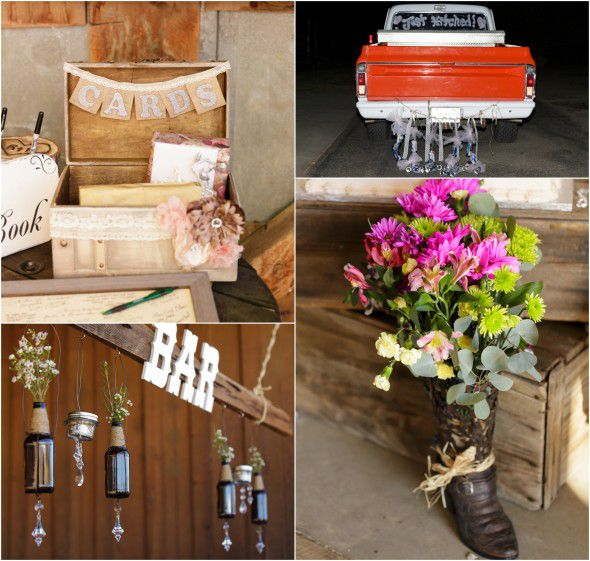 Country Glam Wedding