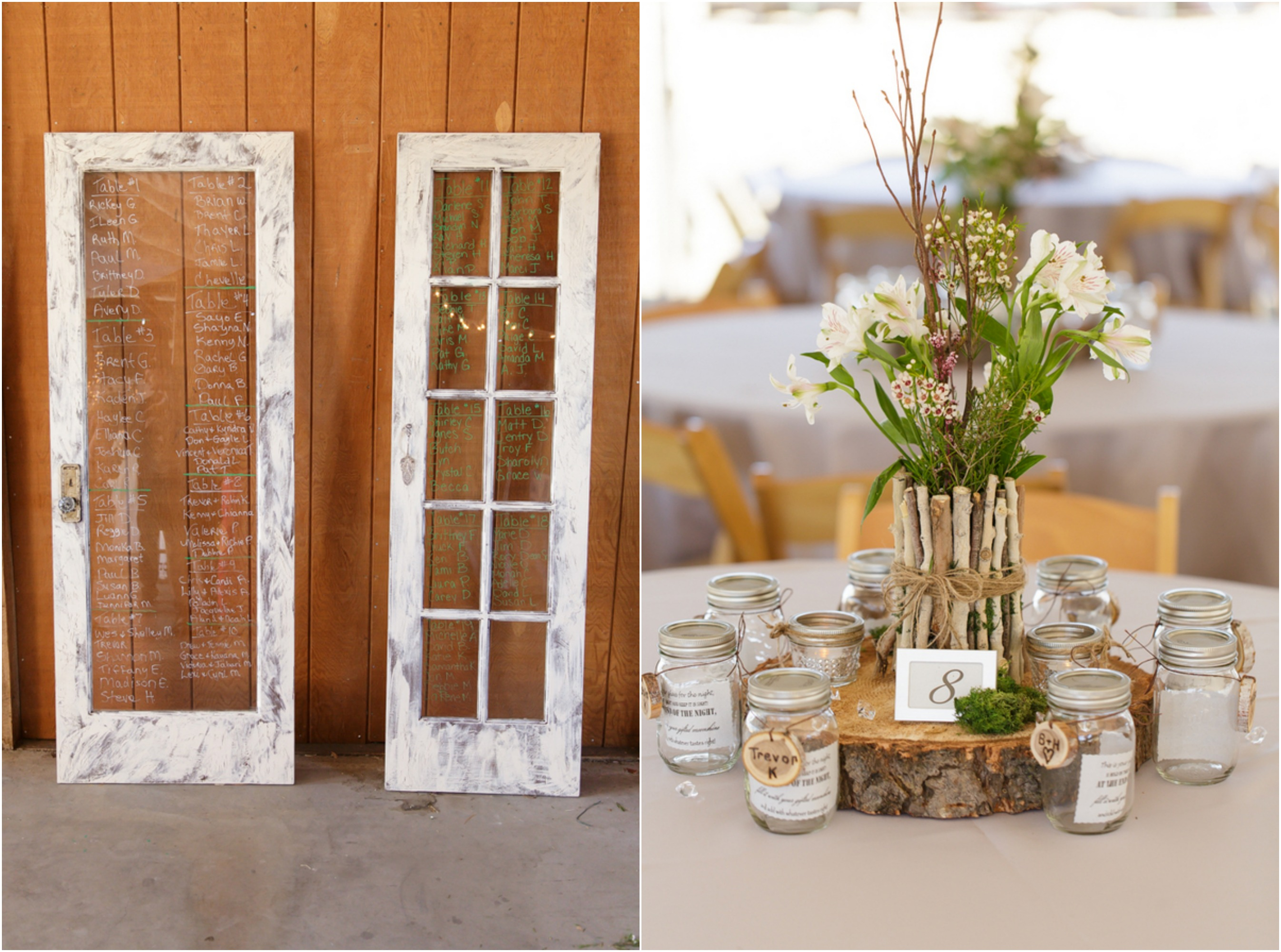 Country glam wedding rustic wedding chic for Country wedding reception decorations