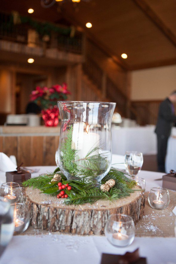 Creative winter wedding ideas rustic chic