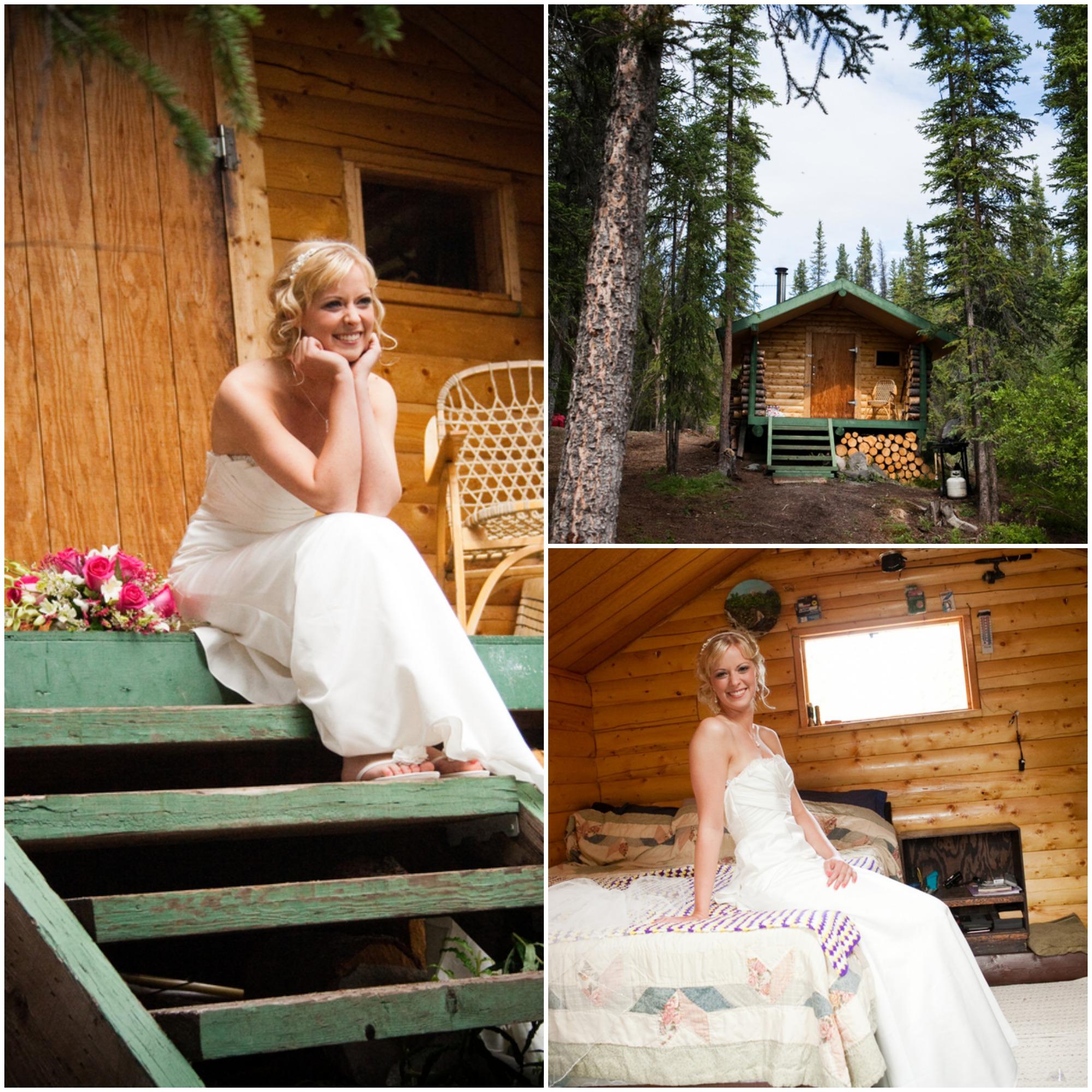 Alaska Fishing Cabin Wedding