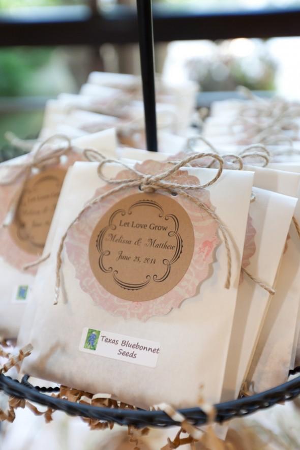 Custom Seed Pack Wedding favors