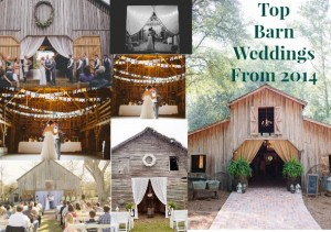 The most inspiring and beautiful barn weddings from 2014