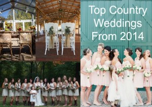 Top Country Weddings From 2014
