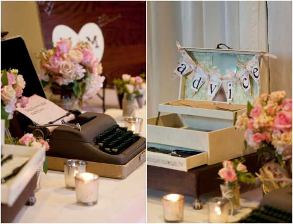 Advice Box for Wedding Guests