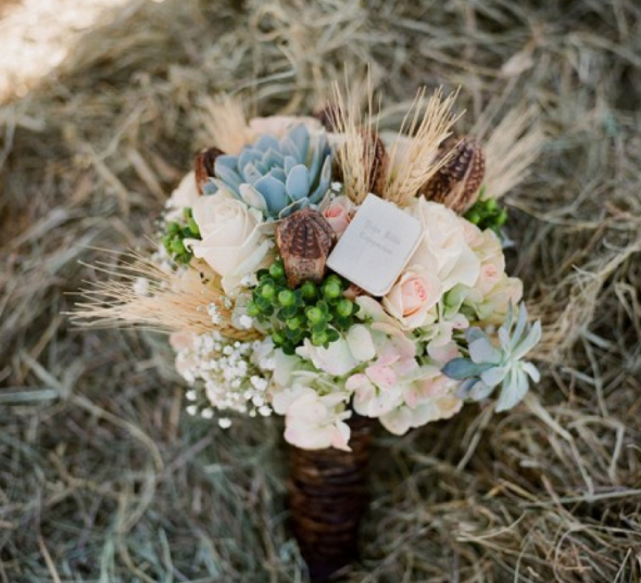Country Wedding Ideas Flowers: 20 Winter Wedding Bouquets