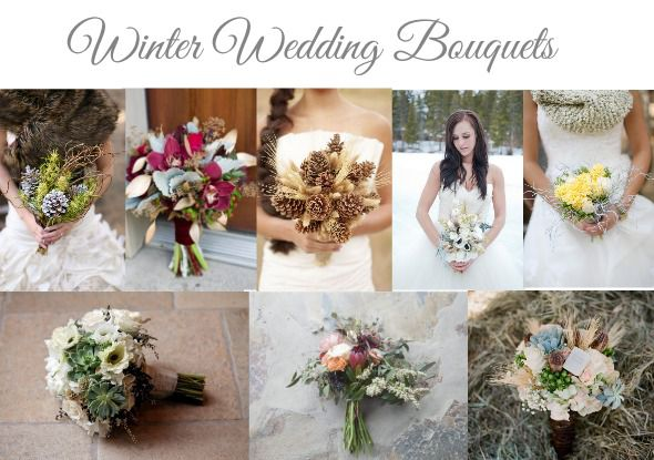 20 winter wedding bouquets rustic wedding chic winter wedding bouquet ideas junglespirit Choice Image