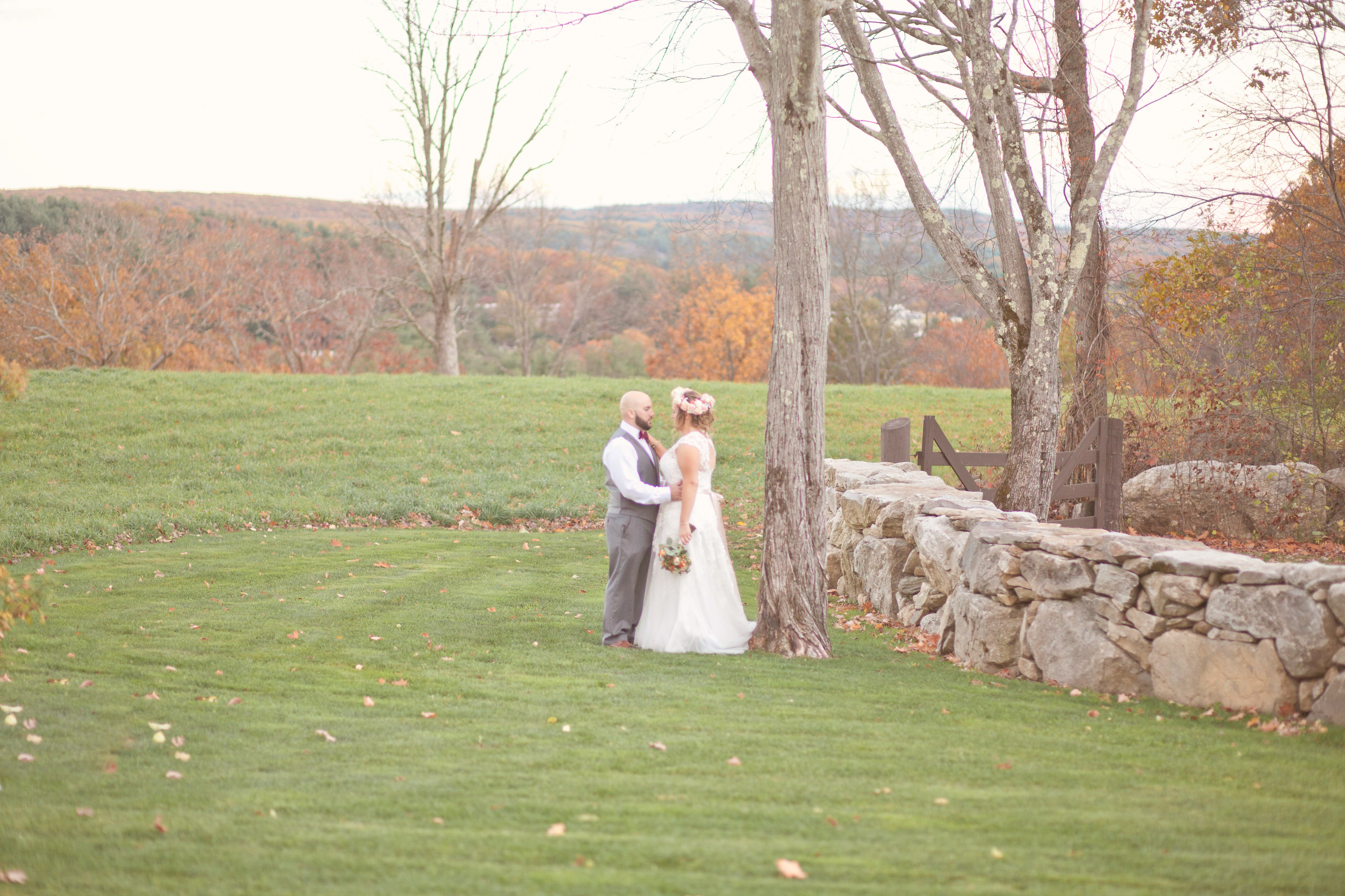 Fall New England Farm Wedding Rustic Wedding Chic