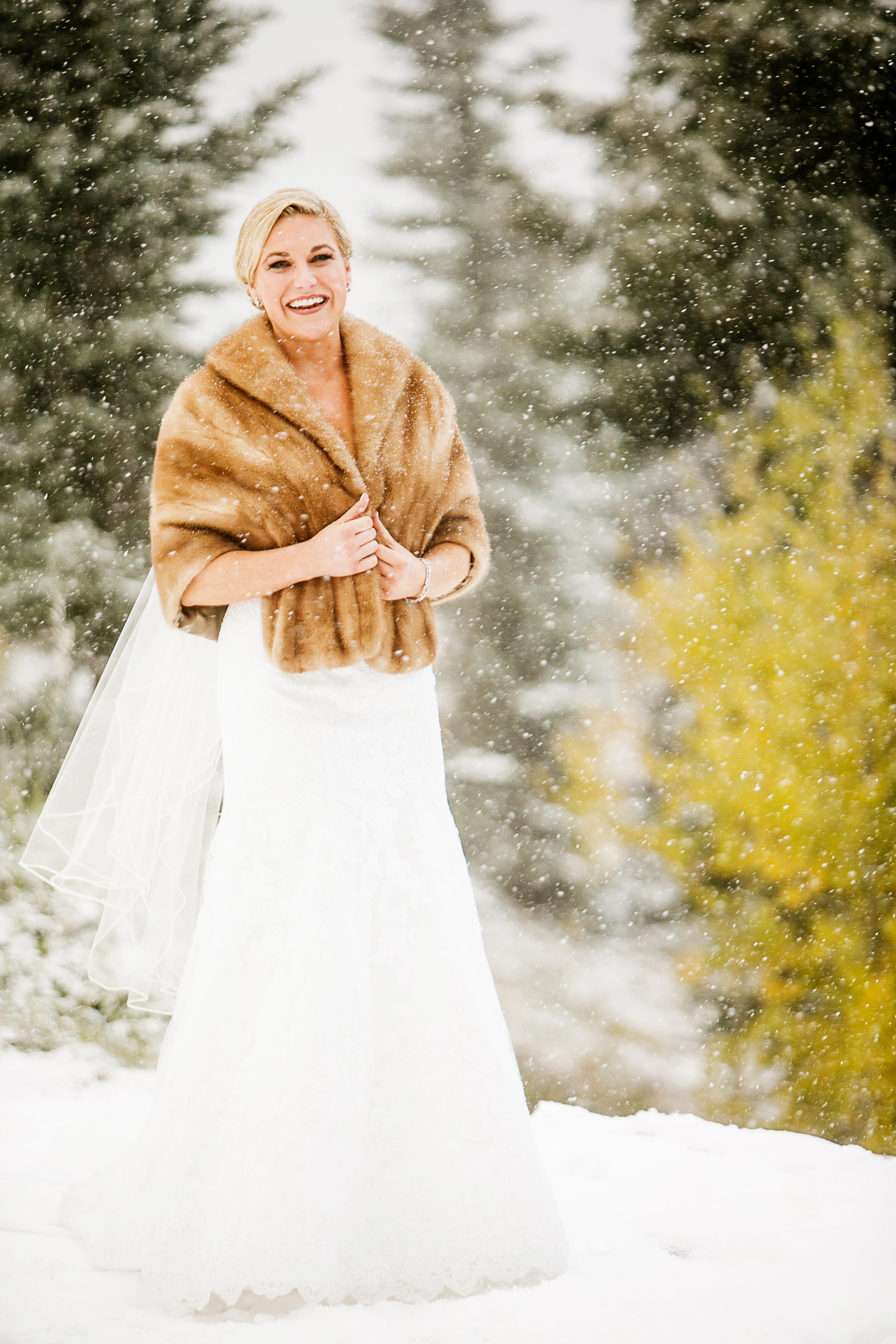 Aspen Winter Wedding Rustic Wedding Chic