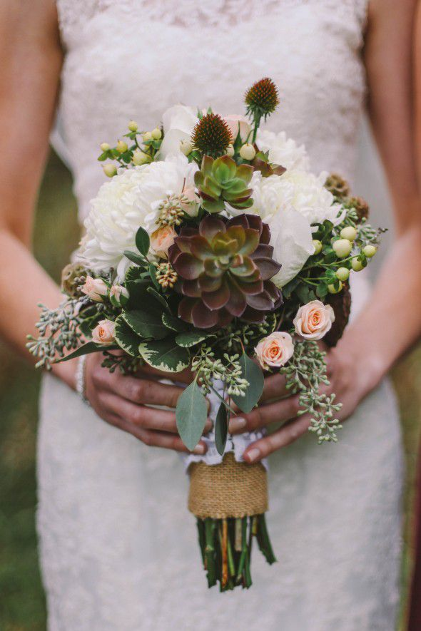 Diy Bouquet Wedding Simple