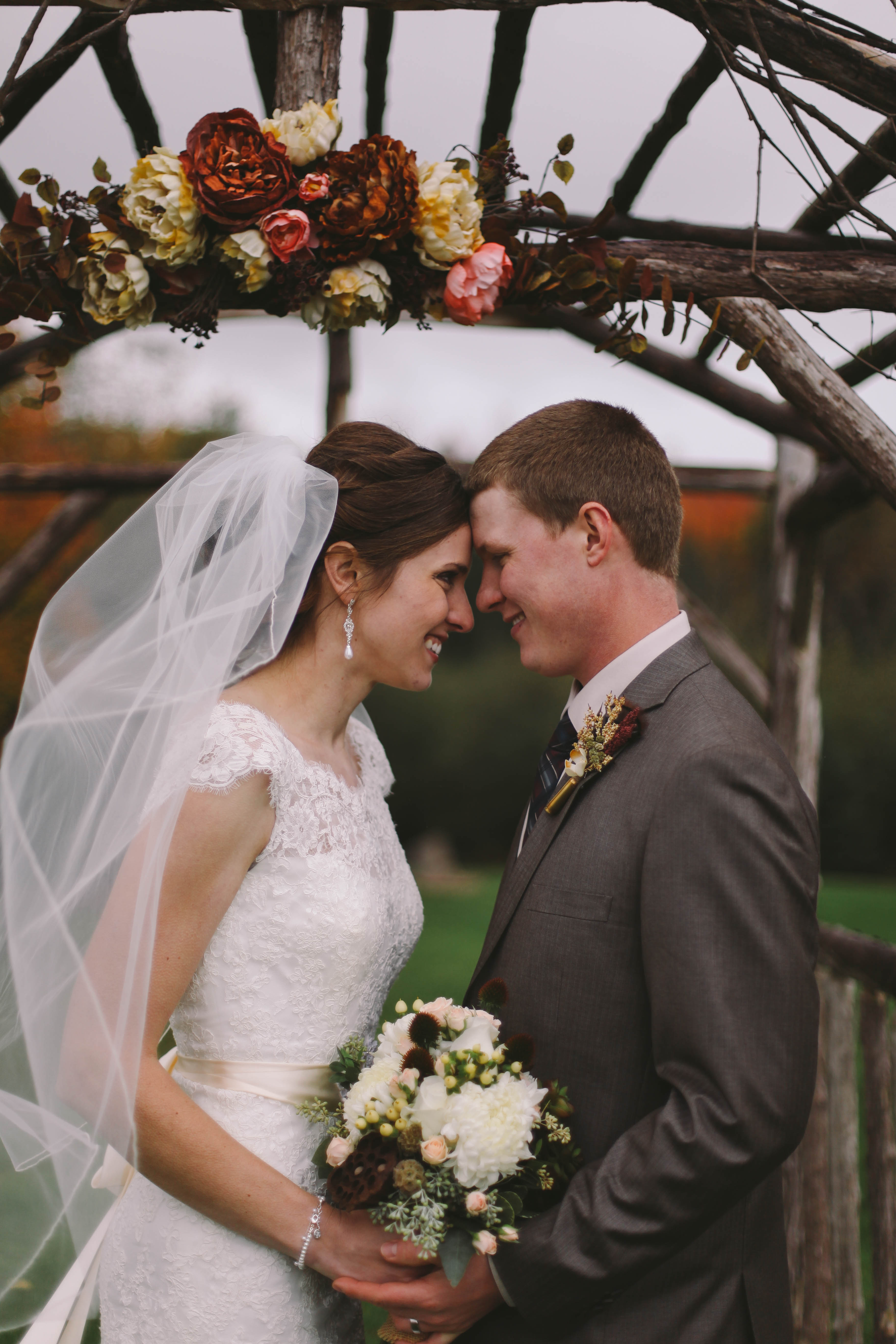 Outdoor Fall Rustic Wedding - Rustic Wedding Chic