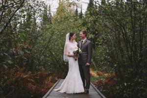 Outdoor Fall Wedding: Sara + Ryan
