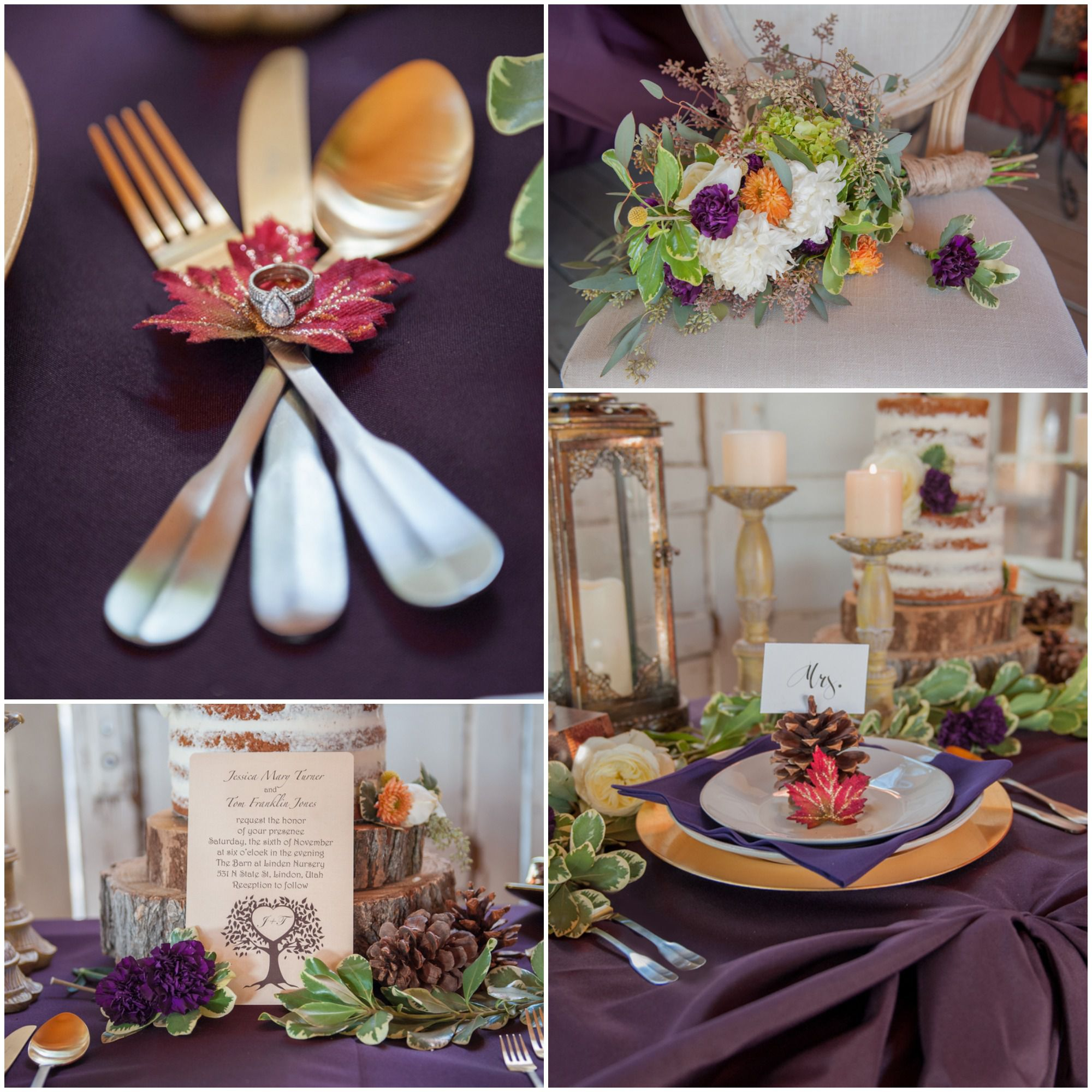 Fall Barn Wedding Ideas: Thanksgiving Wedding Ideas