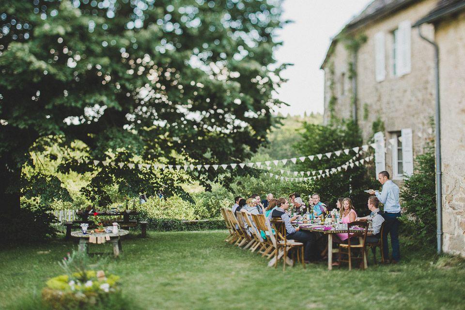 Intimate Rustic Backyard Wedding: French Rustic Backyard Wedding