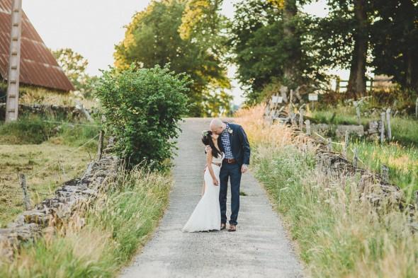 French Rustic Backyard Wedding - Rustic Wedding Chic