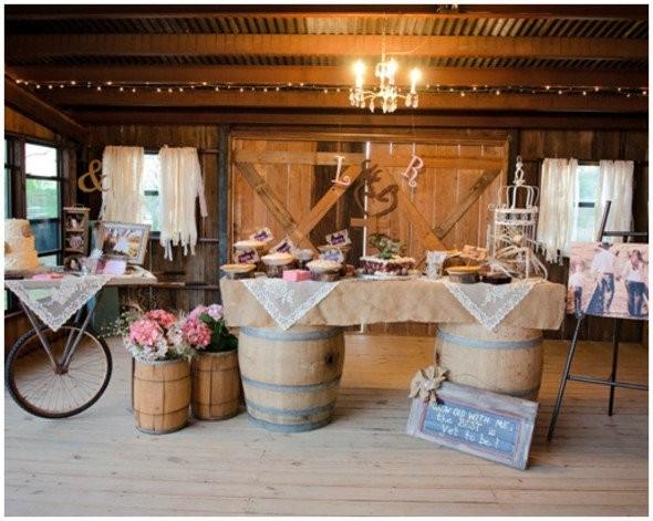 Chic Rustic Country Wedding: Western Wedding Ideas