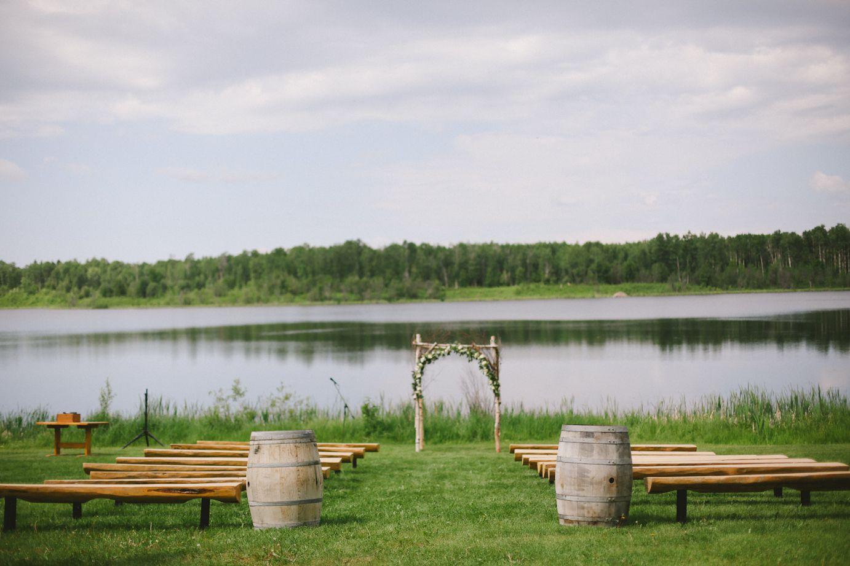Alberta Canada Lakeside Wedding Rustic Wedding Chic