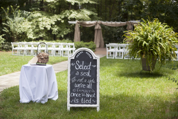 Southern Outdoor Wedding