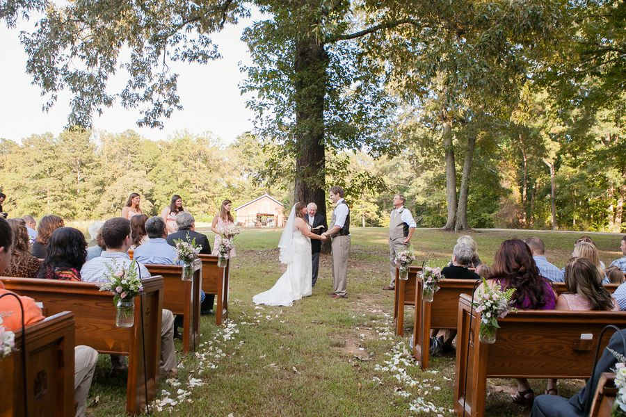 Outdoor Country Barn Wedding Rustic Wedding Chic
