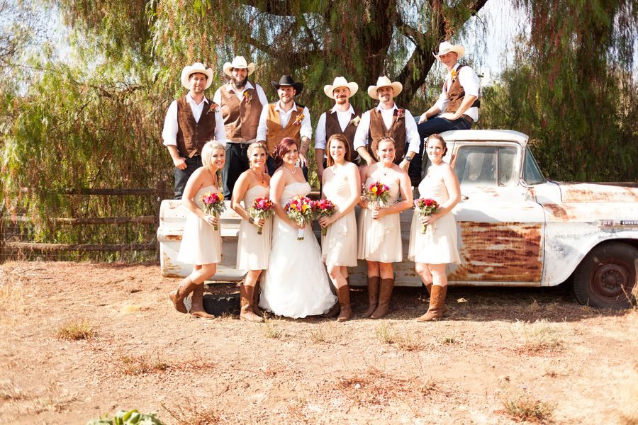 Country Western Style Wedding - Rustic Wedding Chic