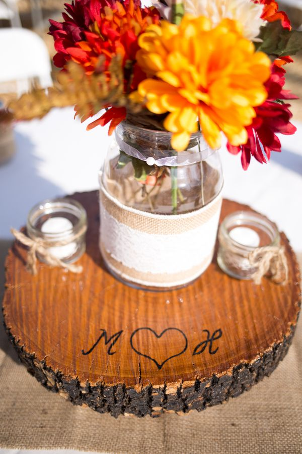 Country western style wedding rustic chic
