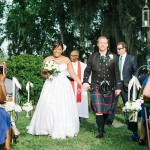Southern Wedding Bride and Groom