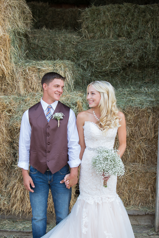 Elegant Outdoor Country Wedding - Rustic Wedding Chic