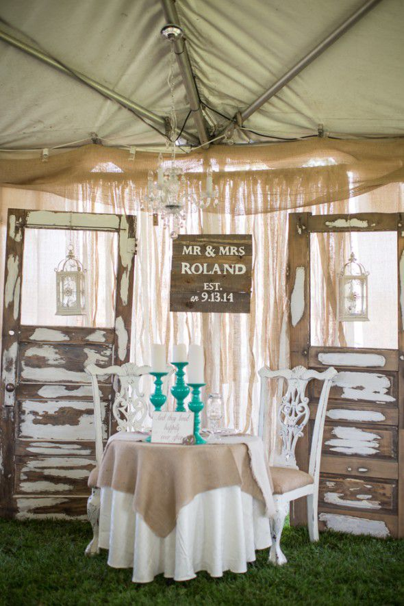 Elegant Outdoor Country Wedding Rustic Wedding Chic