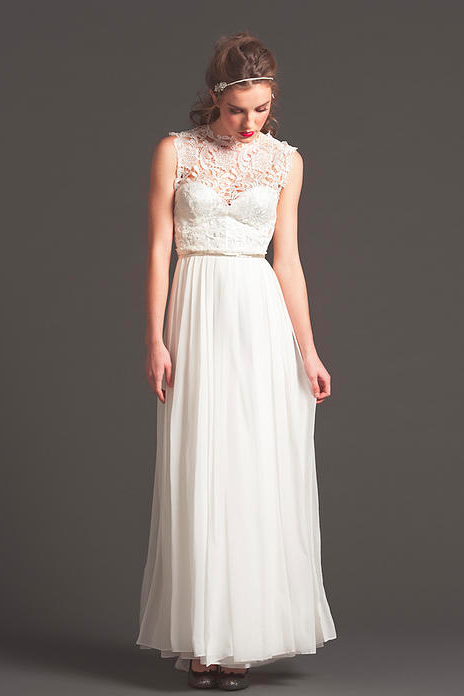 Sarah Seven Wedding Dress Looks - Rustic Wedding Chic