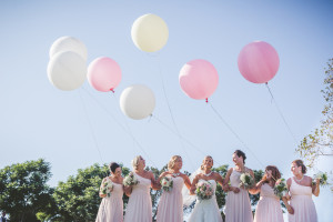 Balloons At Wedding