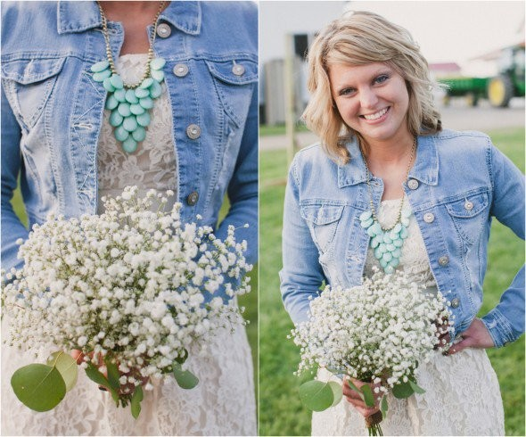 Denim Jackets At Wedding