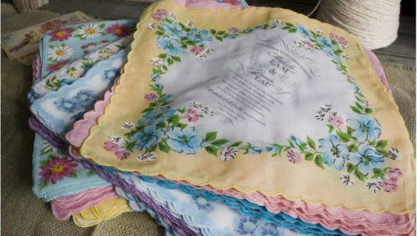 Handkerchief Invitation