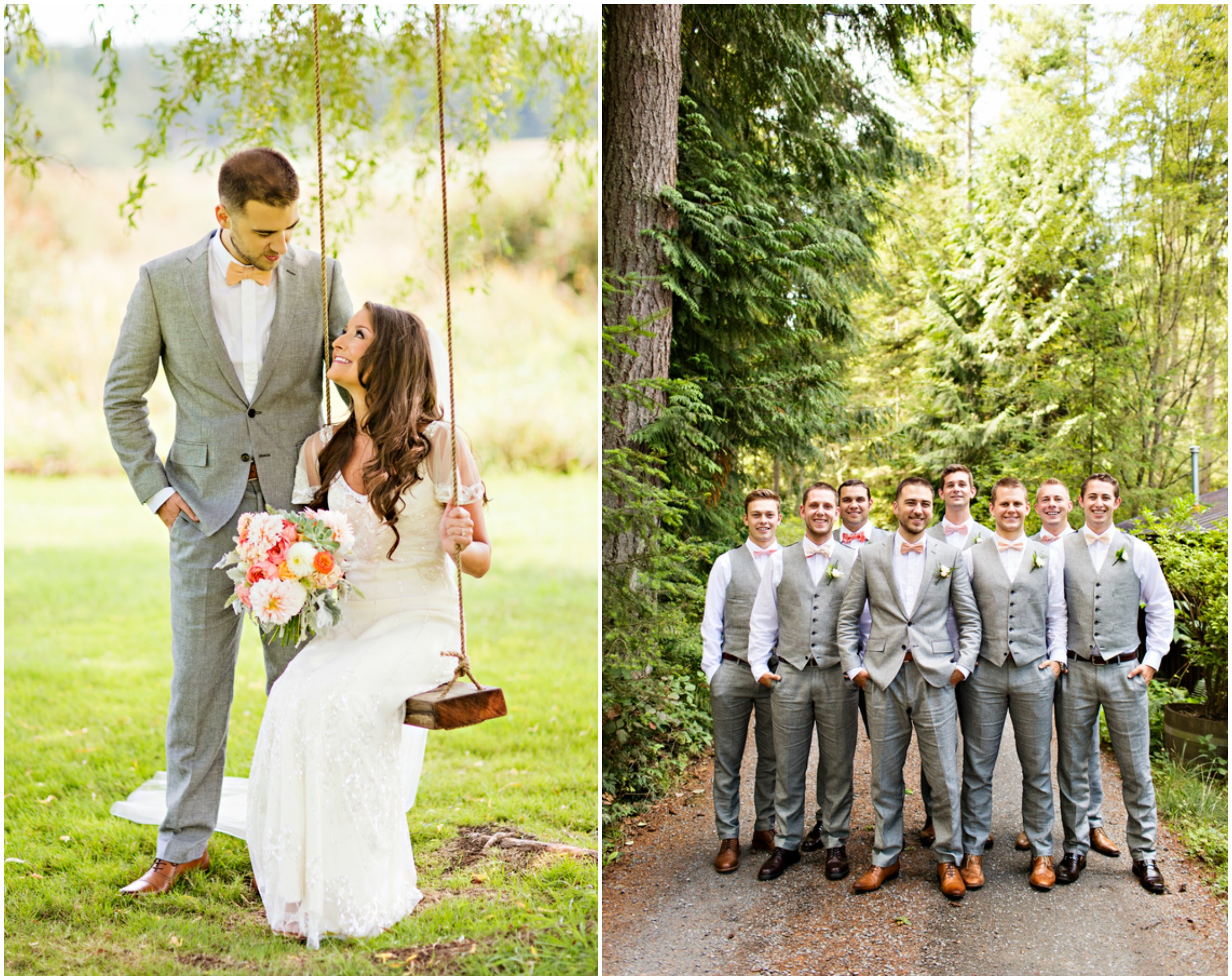 Outdoor Wedding With Vintage Decorations
