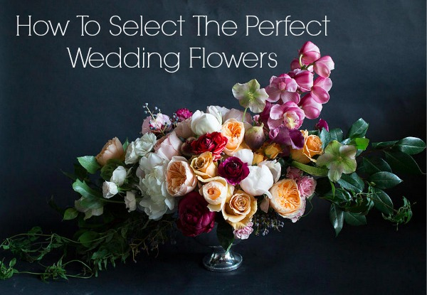How To Select Wedding Flowers