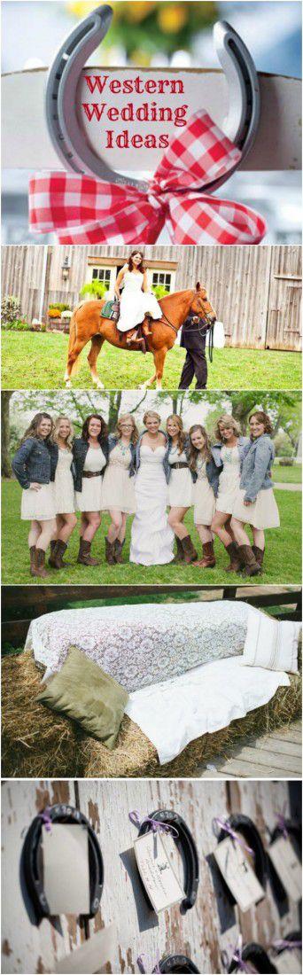 Ideas For A Western Wedding