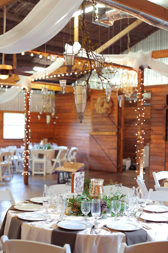 Texas Winter Barn Wedding
