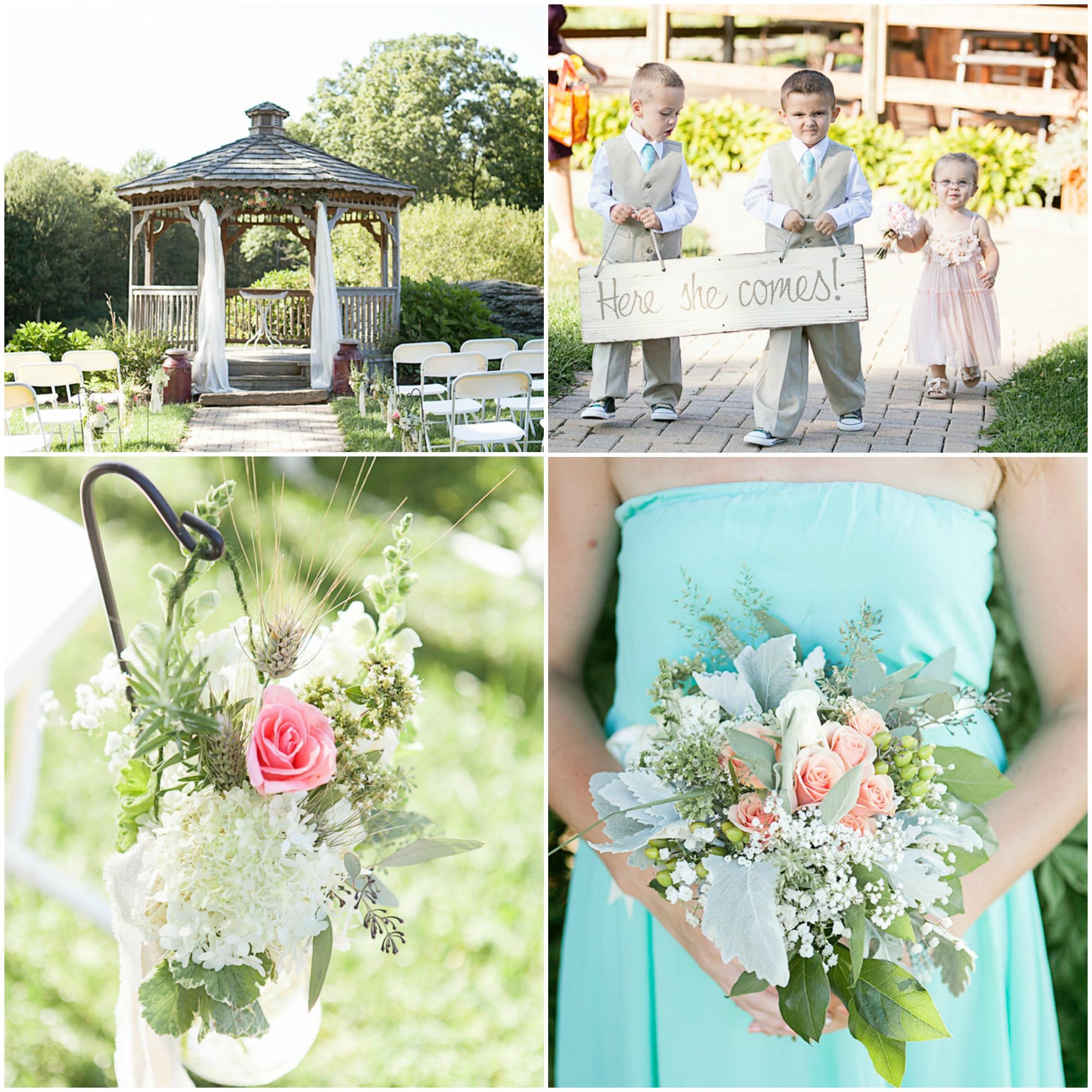Outdoor Wedding Illinois: Wood Acres Farm Connecticut Wedding