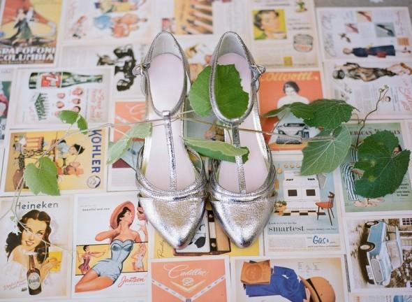 Vintage Style Wedding Shoes