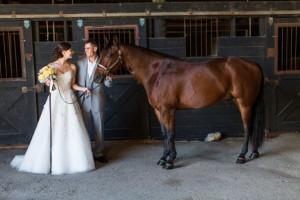 Outdoor Western Barn Wedding