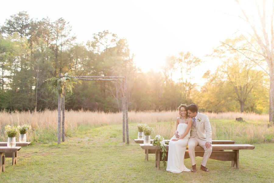 Natural Rustic Wedding