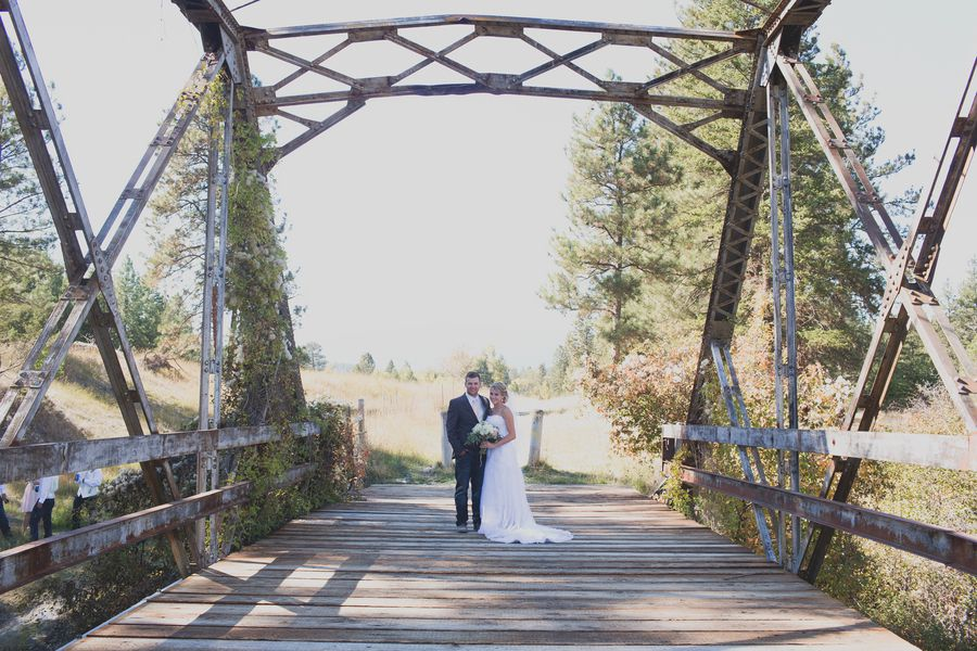 Outdoor Country Rustic Wedding