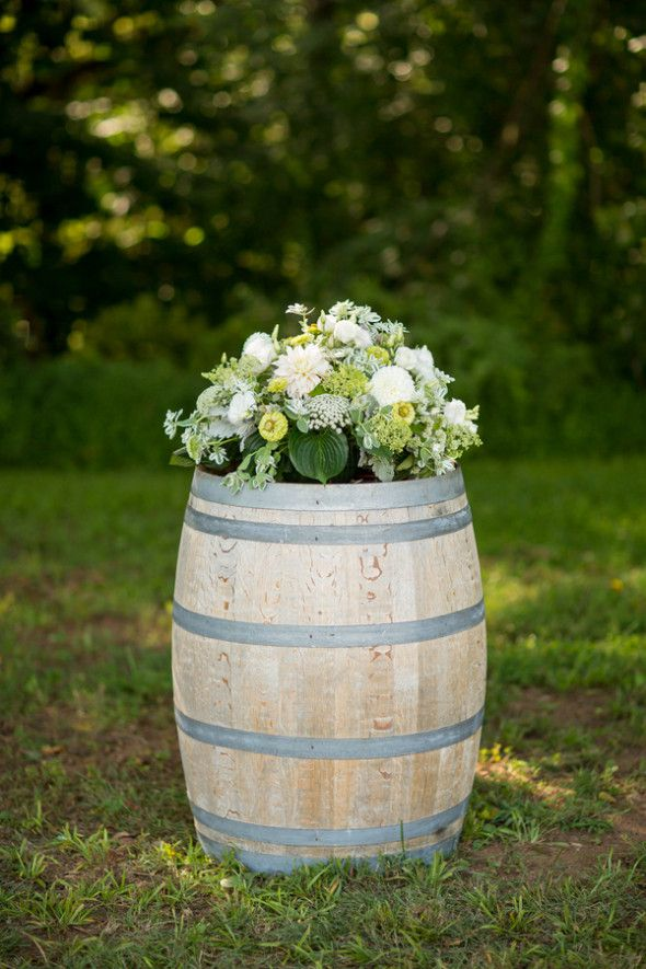Virginia Vineyard Country Wedding - Rustic Wedding Chic